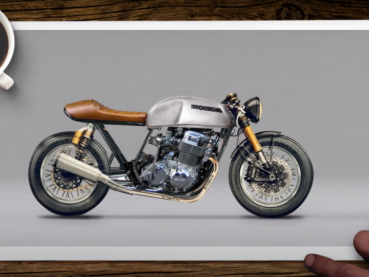 How to design a cafe racer